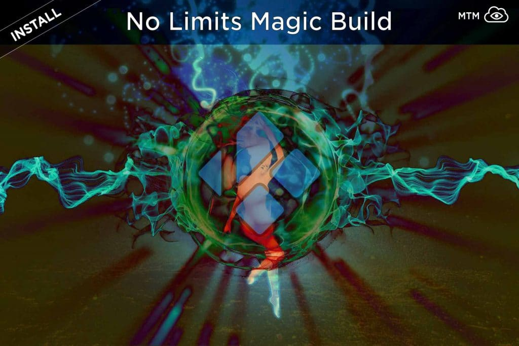 How to Install No Limits Magic Kodi Build header image
