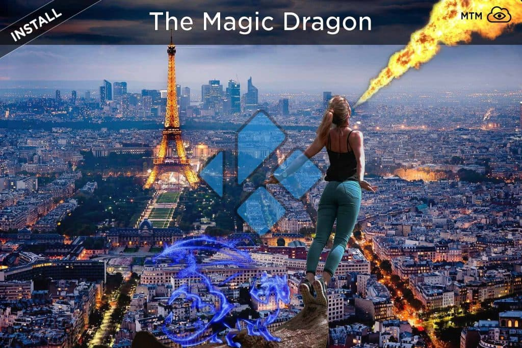 How to Install The Magic Dragon Kodi Addon Pyramid Alternative header image