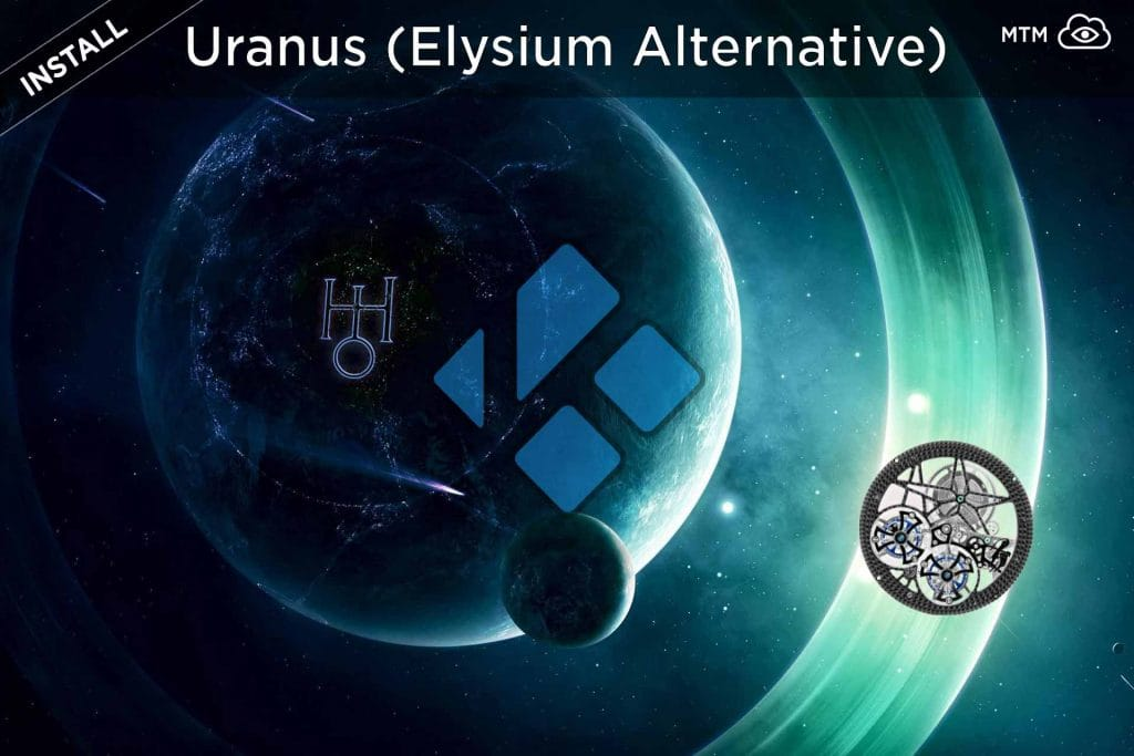 How to Install Uranus Kodi Elysium Alternative Addon header image