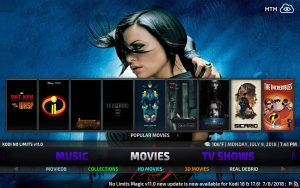 Now available as Kodi 17.6 Krypton build and Kodi 18 Leia build, No Limits Magic and Firestick Lite Builds