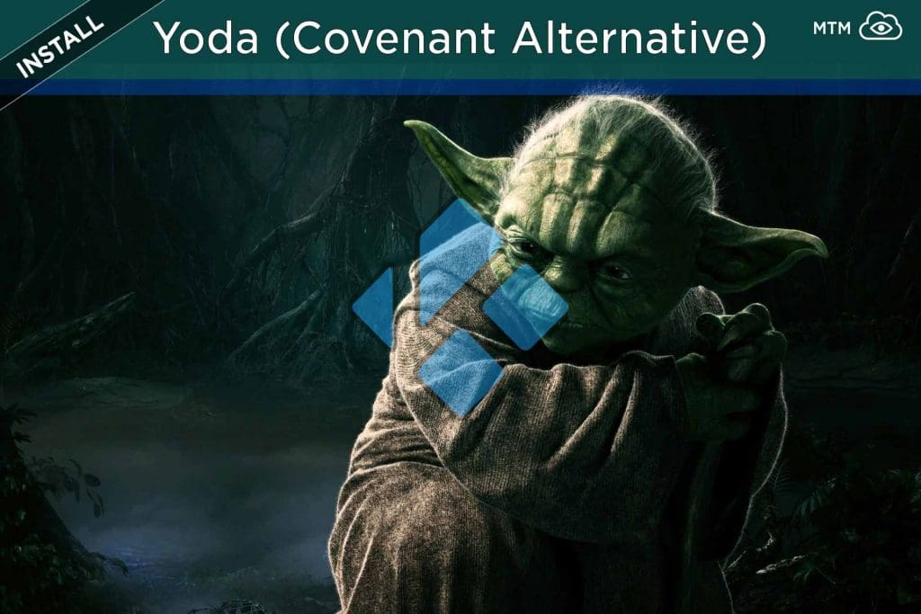How to Install Yoda Kodi TV Addon (Covenant Alternative) from Ghost Repository