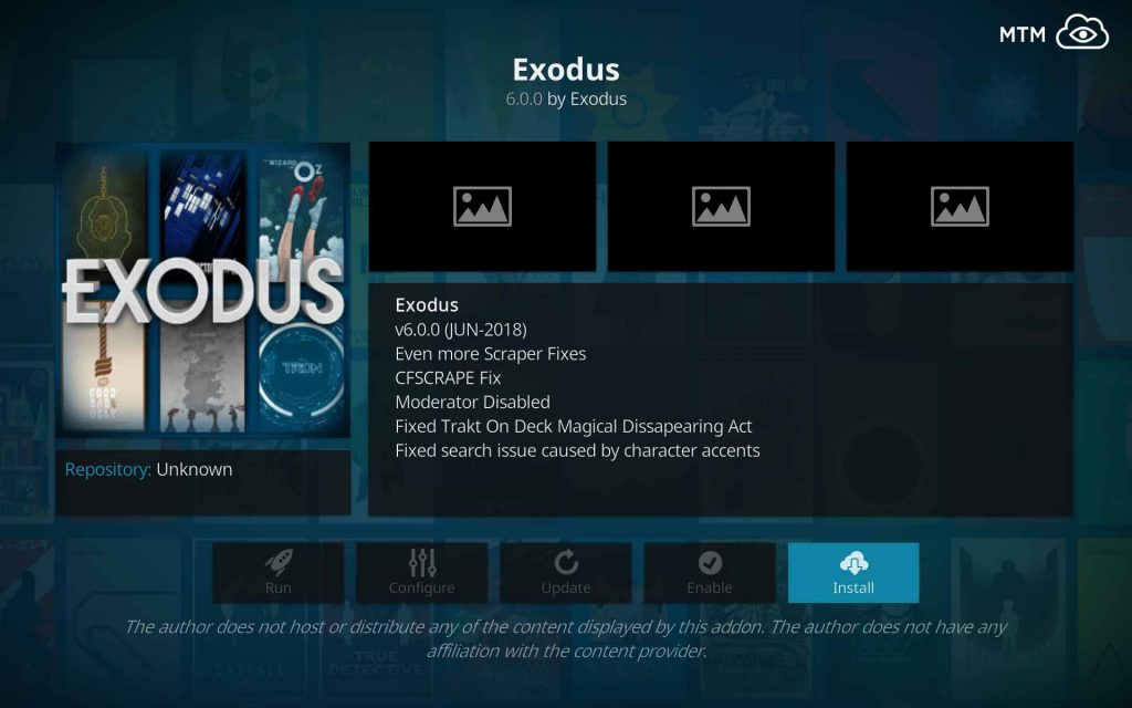 exodus on kodi install