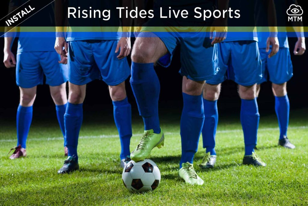 How to Install Rising Tides Kodi Live Sports Addon