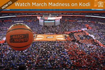 Stream NCAA Basketball March Madness on Kodi Live TV header image