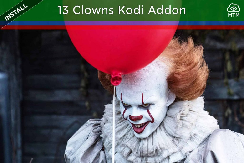 Install Kodi 13 Clowns Free Movies IPTV PPV Live TV Sports Video Addon