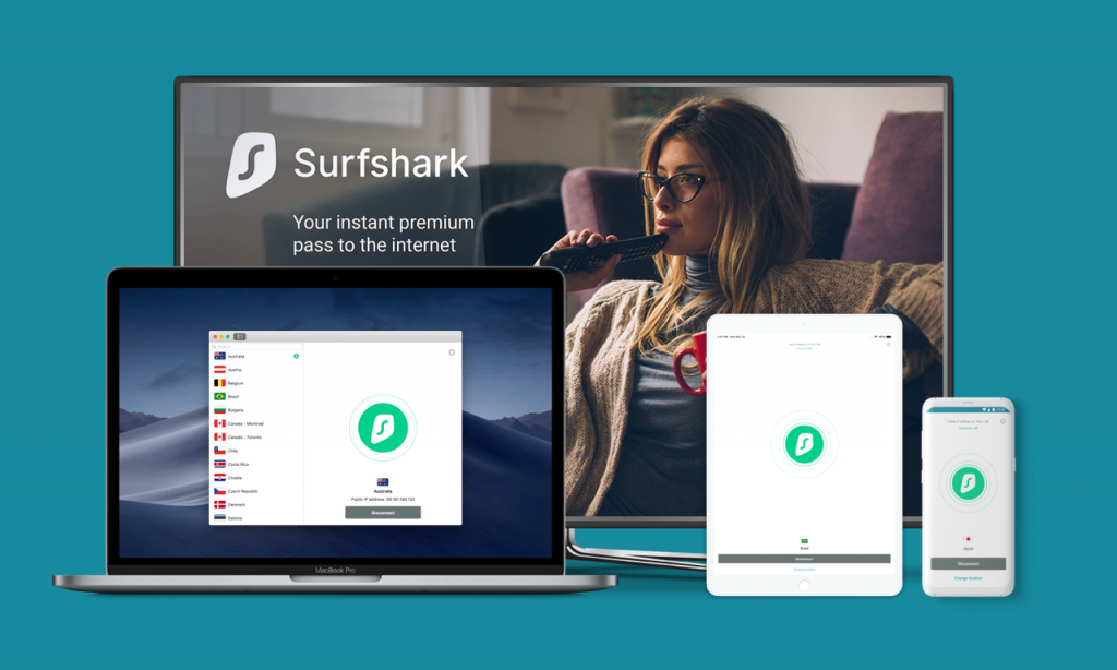 use surfshark for privacy on unlimited internet devices
