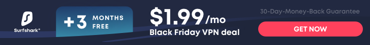 cheap, secure, private streaming with surfshark vpn on sale for black friday
