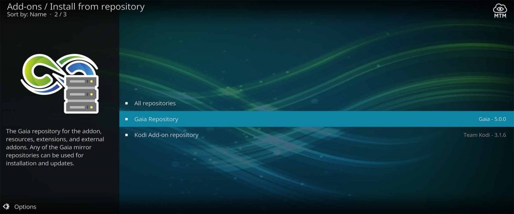 Enter the Gaia Repository 1 to Access the Bubbles Replacement Gaia Kodi Addon and More