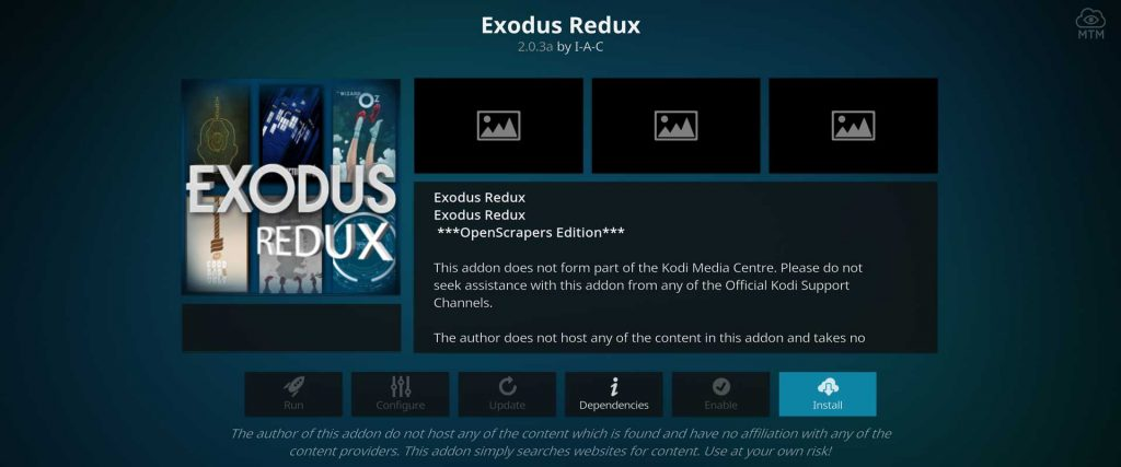 install exodus redux on kodi firestick