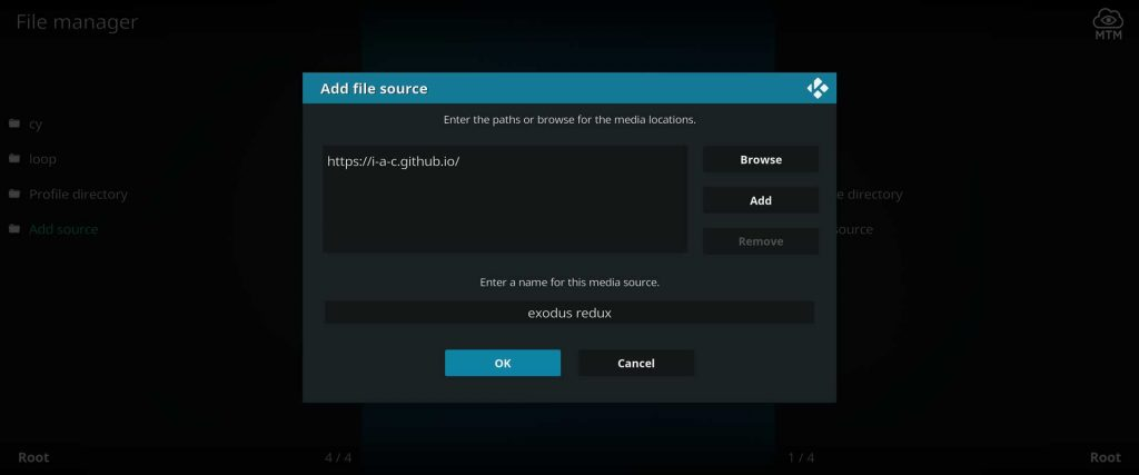 repository source for exodus redux on kodi