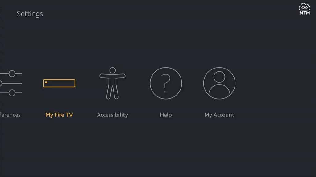 firestick settings my fire tv