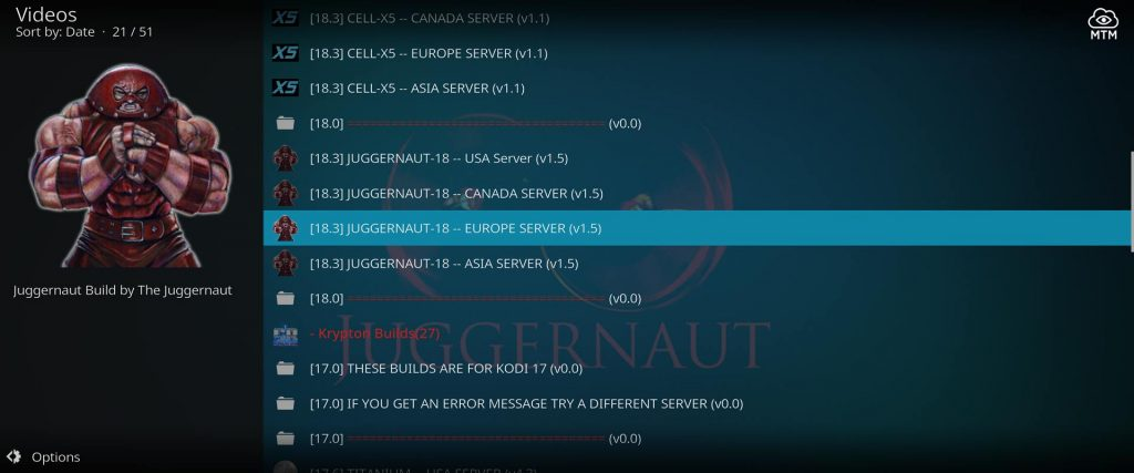 worldwide supreme builds server locations for juggernaut build