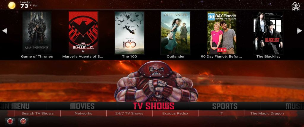 juggernaut kodi build from supreme builds wizard on firestick 4k from supreme builds wizard