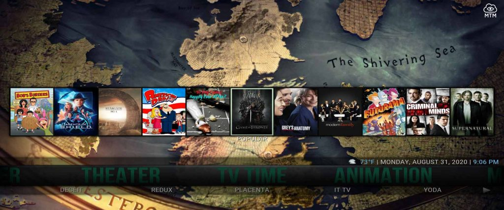 cell-x5 kodi build from supreme builds wizard tv time category on firestick 4k