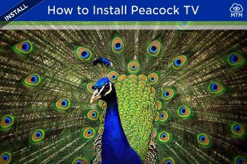 How to Install Peacock TV App